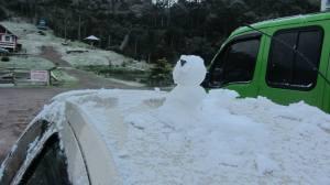 Com direito a Boneco de neve!!!