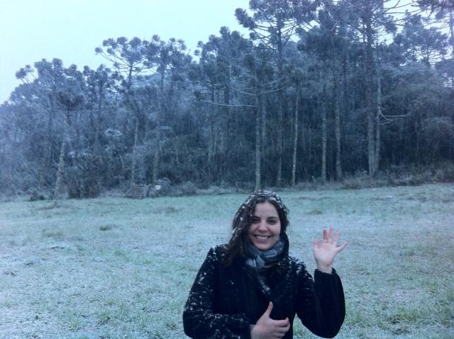 Cai neve!!!