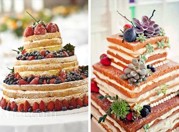 O bonito do naked cake aí... :)