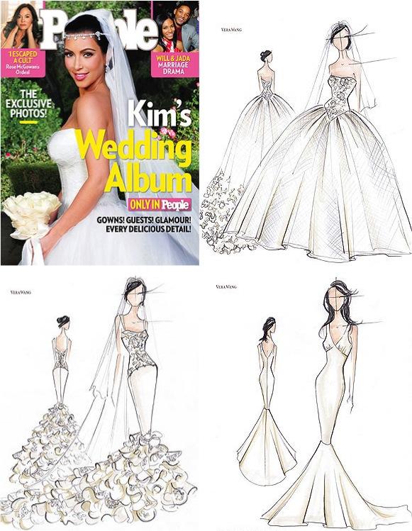 Como a nossa amiga Kim Kardashian em seu primeiro casório :)
