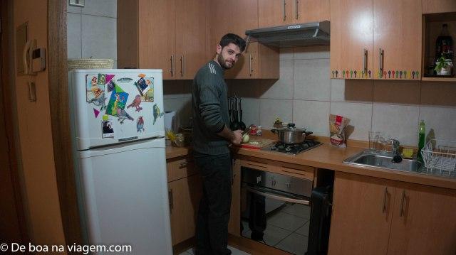"""""""Eu"""" cozinhando! :P :D"""