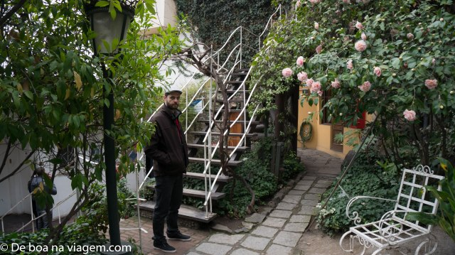 Os Jardins de La Chascona + o Dé