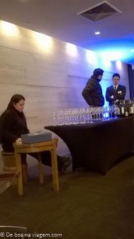 Degustação de Vinhos Chilenos no Hotel Valle Nevado